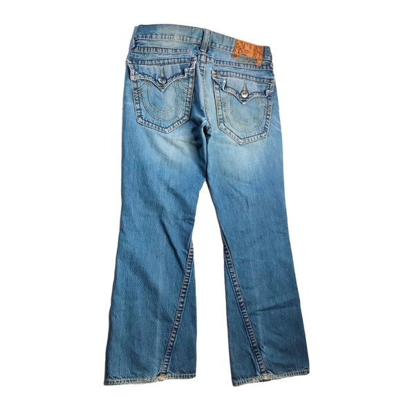 True Religion Joey Big T Men's Jeans 34 Distressed